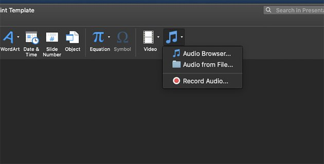 Adding audio & video