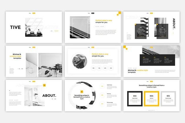 Black & White Color Scheme
