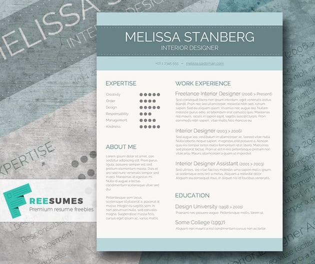 Stylish CV Template