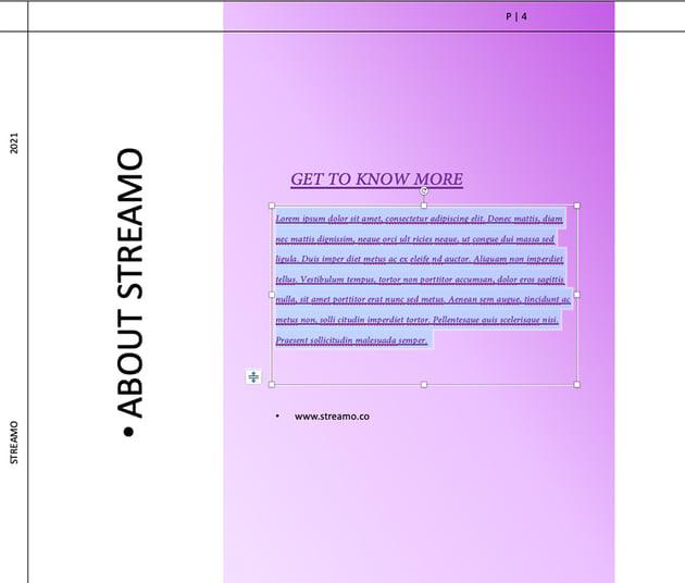 paste formatting