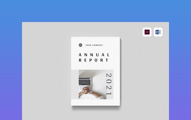 Annual Report   MS Word & Indesign