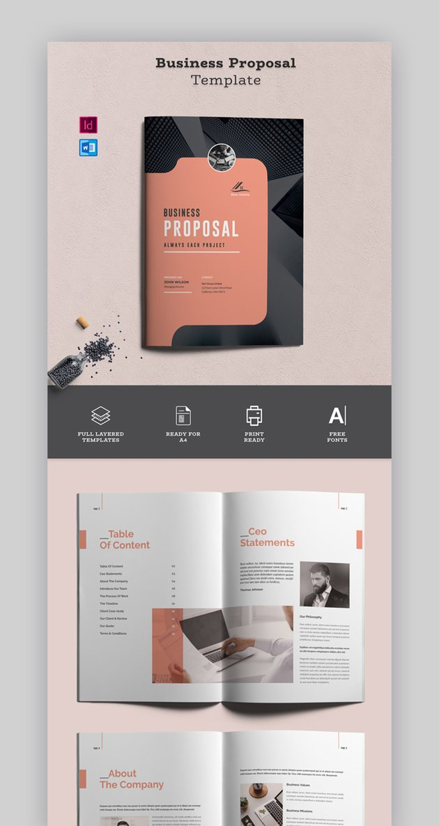 Proposal Template Word