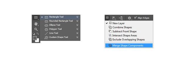 Merge shape components
