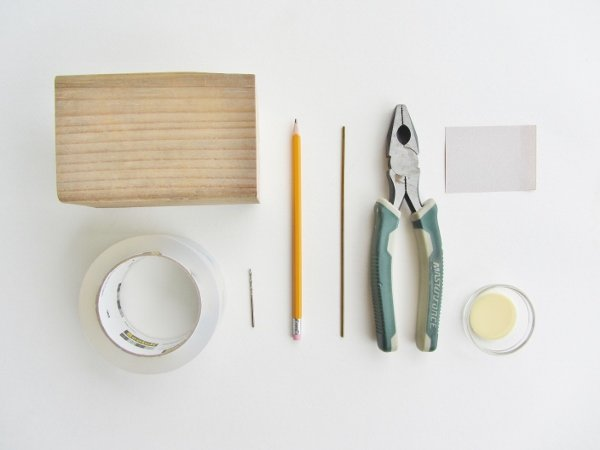 Modern wooden bird supplies