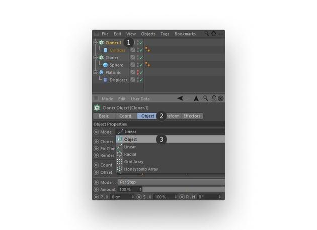 Editing the Cloner tool
