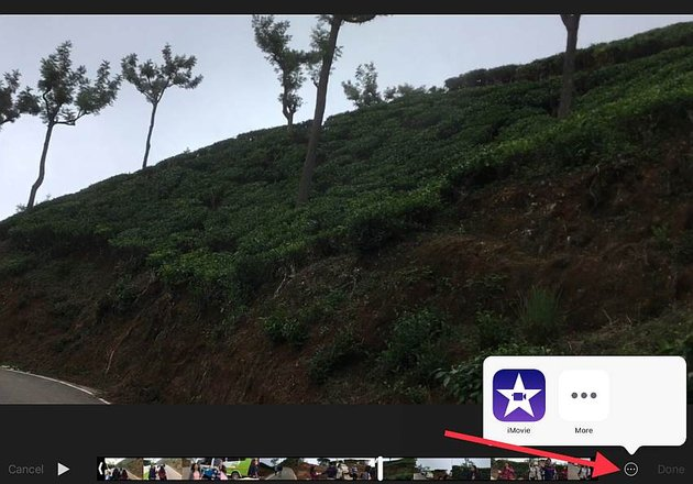 edit clip with iMovie for iOS