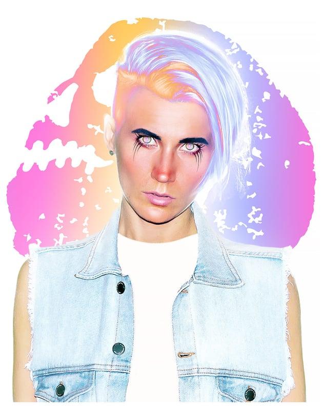 paint eyes