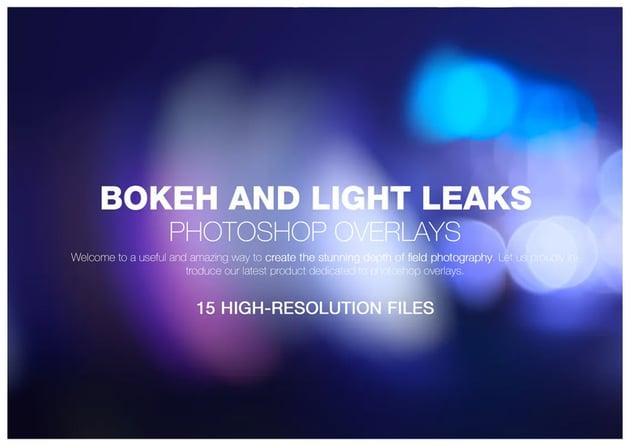 bokeh and light leaks