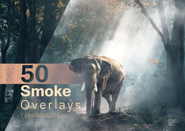 50 Smoke Overlays