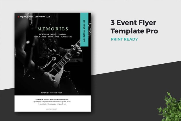 Event Flyer Template Pro