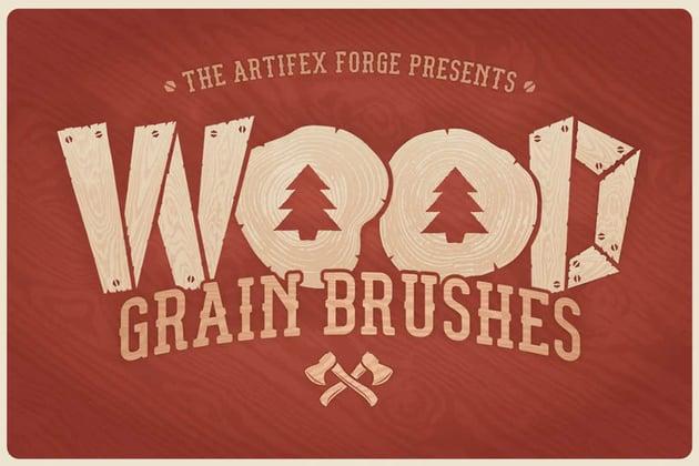 Wood Grain Brushes