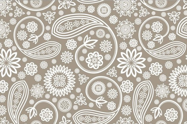 Paisley Repeating Texture