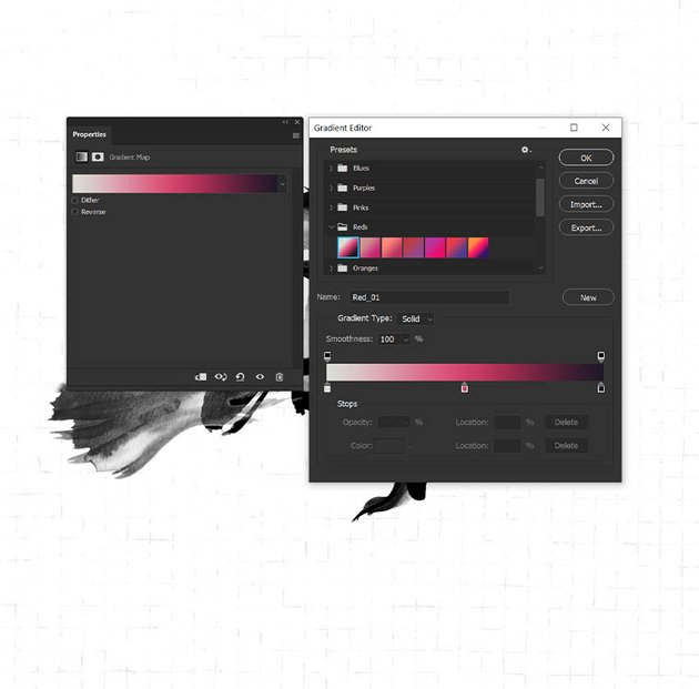 add color with gradient maps