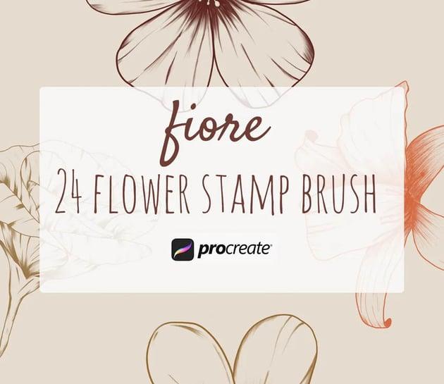 Fiore – Procreate Stamp Brush