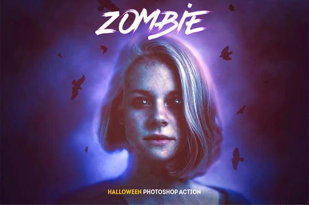 Zombie - Halloween Photoshop Action