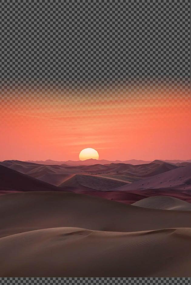 third desert landscape