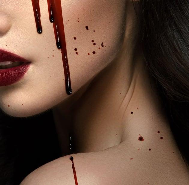 shade blood splatter
