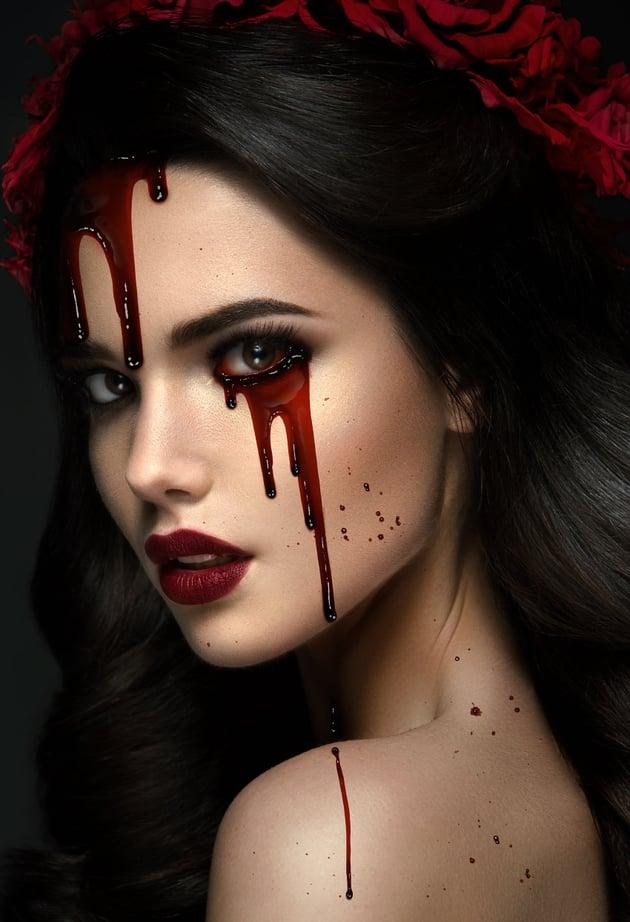 blood splatter photoshop