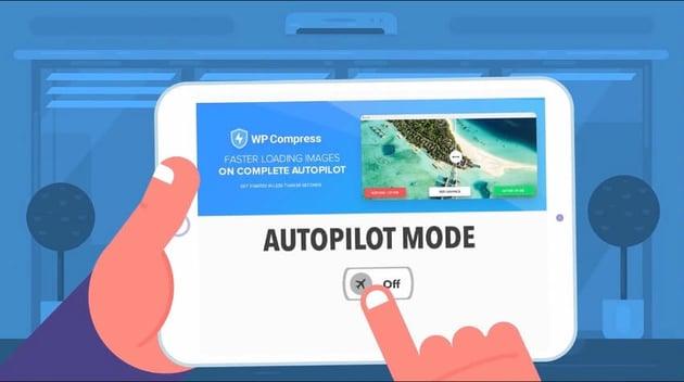 WP Compress faster loading images