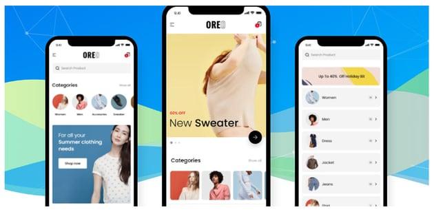 Oreo Fashion Full React Native App for WooCommerce