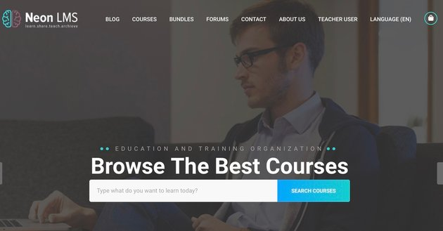 NeonLMS - Learning Management System