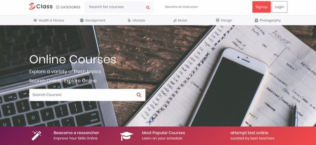 eClass Learning Management System