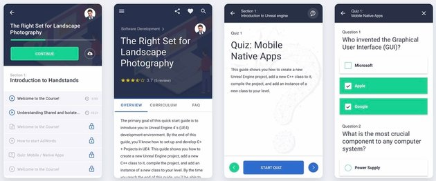MasterStudy LMS Mobile App - Flutter iOS  Android