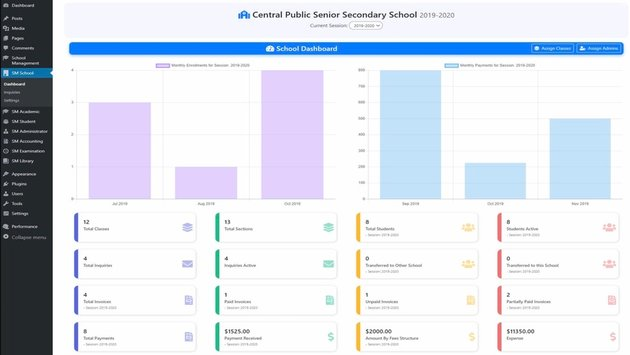School Management - Educational  Learning Management System for WordPress