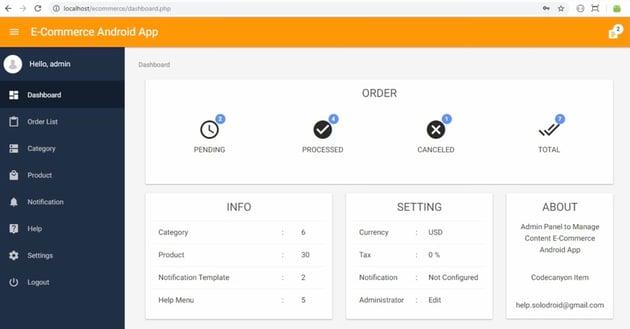 Ecommerce Online Shop App
