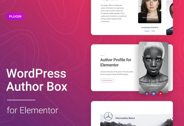 WordPress Author Box for Elementor