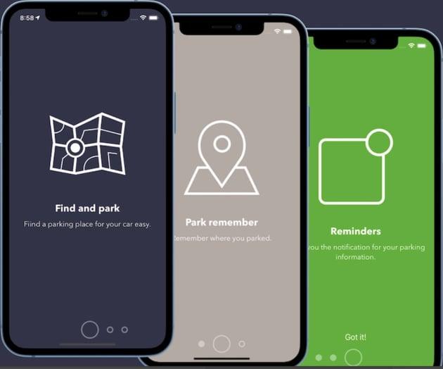 ParkOn - Parking app Template