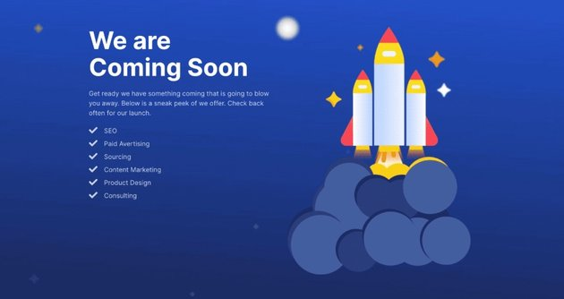 Coming Soon Page, Maintenance Mode & Landing Pages by SeedProd