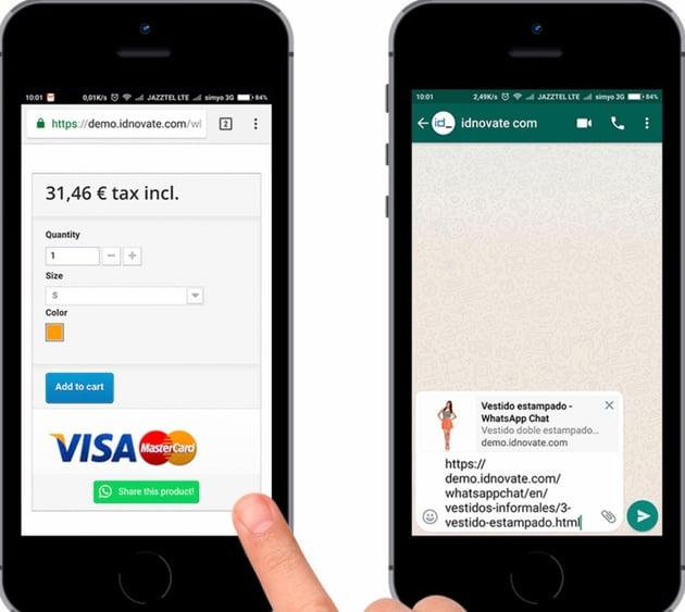 WhatsApp Chat and Share for WordPress / WooCommerce