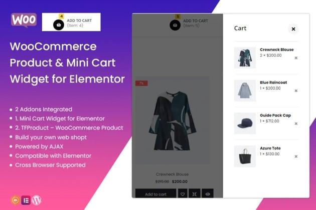 TFMiniCart&Product - WooCommerce Product, Mini Cart