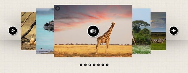 Multimedia Responsive Carousel With Image, Video and Audio Support