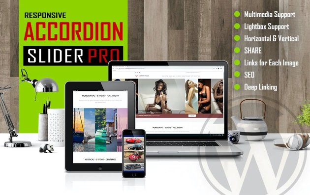 Accordion Slider PRO - Responsive WordPress Plugin