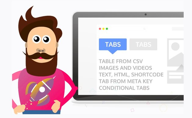 Product Tabs for WooCommerce