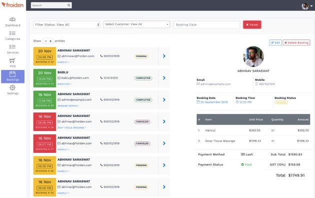 Appointo Multi Vendor - Booking Management System