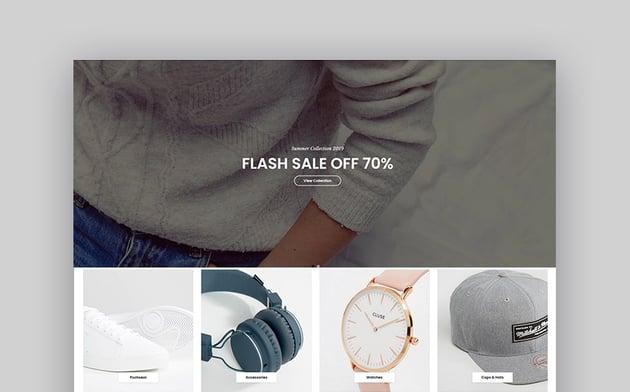 Claue - The Clean & Minimalist OpenCart Theme