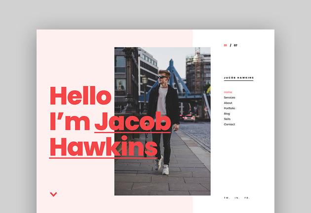 Ukko - Personal Portfolio HTML Template