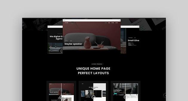 Eremia - Creative Ajax Portfolio Multi-Purpose & personal HTML Template