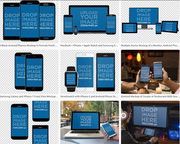 Multiple Device Android Mockup