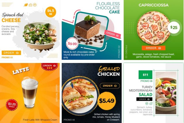 FW Food Menu – Responsive food menu with ordering & delivery solutions