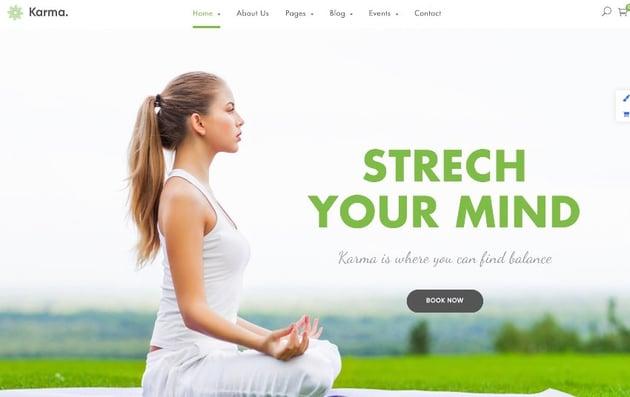 Karma - Responsive Clean Website Template