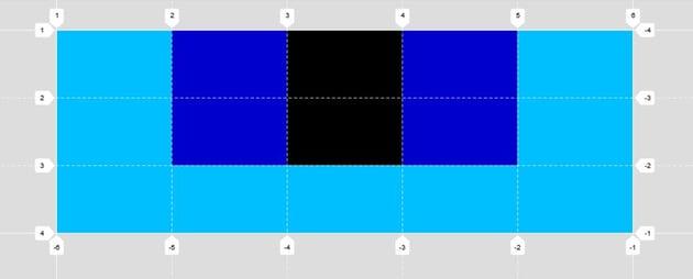 Subgrid simulation parent grid