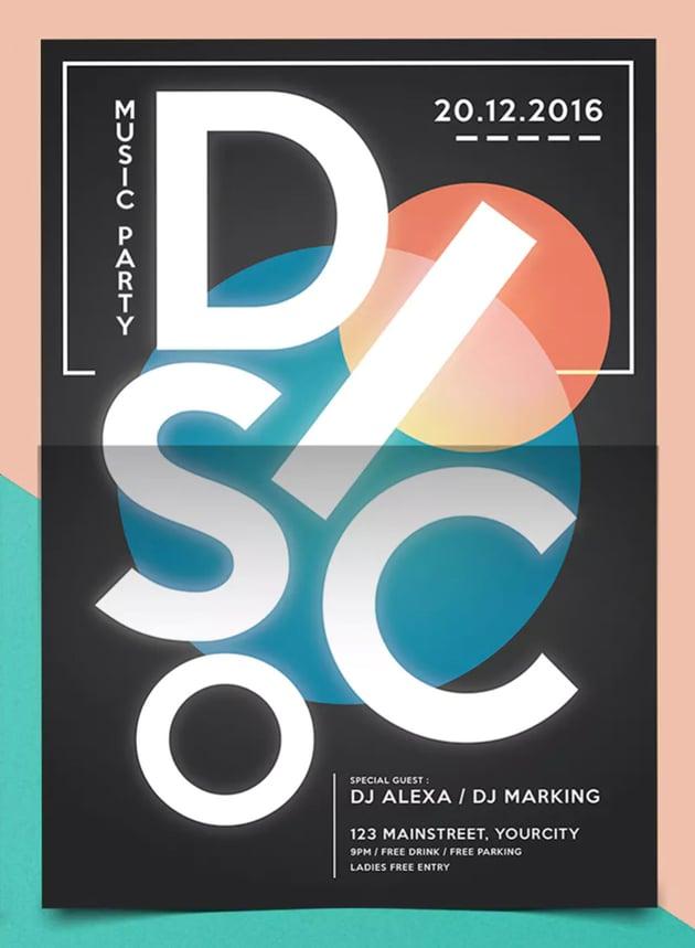 Electro Disco Flyer