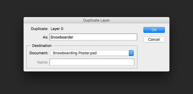 Duplicate the layer onto the original photoshop document