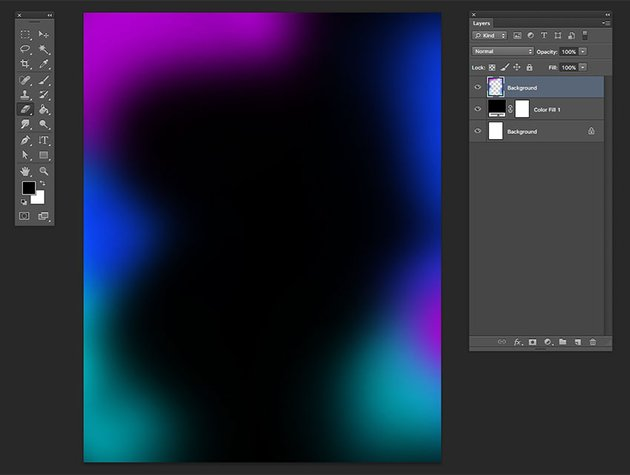 Using the brush tool stamp over the documents with different colors
