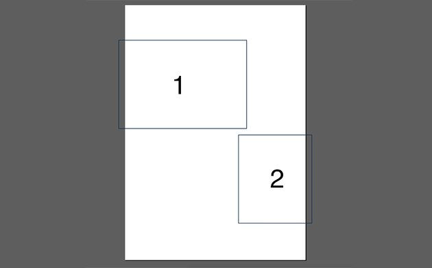 Create two rectangles