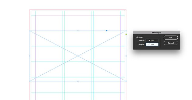 Create a frame using the frame tool